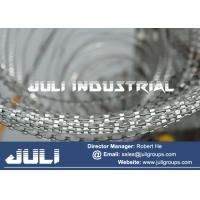 Buy cheap vessels perimeter with galvanized razor wire for anti piracy from wholesalers