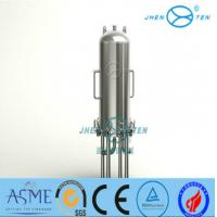Wholesale Lenticular Disk Filter Stainless Fermentation Tank for Beer Water Beverage , Easy To Clean from china suppliers