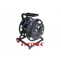 Buy cheap Easy Movable Steel Fiber Cable Reel / Spool , Fiber Optic Accessories from wholesalers
