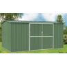 Waterproof Galvanised Steel Metal Garden Shed For Tools Storage , 10ft x 10ft Manufactures
