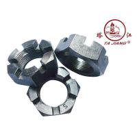 Buy cheap DIN937 Hexagon Slotted Nuts Thin Slotted Nuts from wholesalers