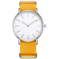 Buy cheap OEM ODM Elegant Nylon Band Watches , Multi Color Japan Movement Quartz Watch from wholesalers