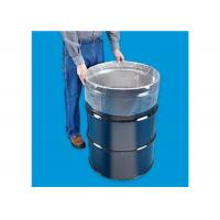 Buy cheap Straight Bottom Drum Liner Bags 85 Gal Transparent Color Accept Customized Logo from wholesalers