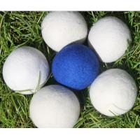 Buy cheap china factory Colored Pure Genuine  6-Pack XL 100% Wool Dryer Balls from wholesalers