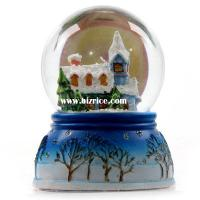 Buy cheap Snow globe on polyresin Christmas tree from wholesalers
