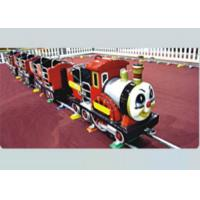 Buy cheap 2-8 Years Old Kids Ride On Train With Track Security For Residential Area from wholesalers