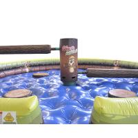 Buy cheap Wipeout Inflatable Last Man Standing Mechanical Sweeper Wrestling Deportivos from wholesalers