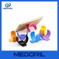 Wholesale Quick snap multiple touch U shape silicone deskstop mobile cell phone holder from china suppliers