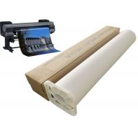 Buy cheap 220gsm Inkjet Stretched Polyester Canvas Roll 24 60 For Printer Plotter from wholesalers