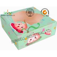 Buy cheap Disposable Cardboard Food Packaging Boxes , Personalised Cardboard Takeaway Boxes from wholesalers