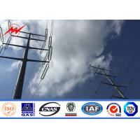 Buy cheap 10M 1250 Dan Galvanized Steel Power Pole With Steel Yield Strength 355 N / mm2 from wholesalers