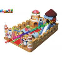 Wholesale Commercial Inflatable Amusements Huge 1000D PVC Tarpaulin For Children from china suppliers
