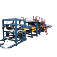 Buy cheap Heat Preservation Rockwool 4m/Min Sandwich Panel Roll Forming Machine from wholesalers
