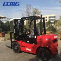 Buy cheap Pneumatic Tire Type Indoor Outdoor Forklift / Compact Lift Trucks 3000 Kg Load Capacity from wholesalers