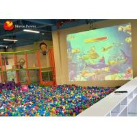 Buy cheap 3D Interactive Projection Floor Motion Throwing Ball Simulator Indoor Playground 2m * 3m from wholesalers