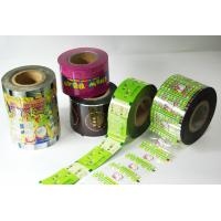 Buy cheap Flexible Plastic Packaging Film , Matte Finish Printing Shrink Wrap Plastic Rolls from wholesalers