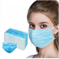 Buy cheap One Time Medical Surgical Face Mask For Food Industry / Beauty Salon from wholesalers