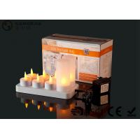 Buy cheap 4set / 6set / 8set / 12set Rechargeable Tea Lights With Remote Control from wholesalers