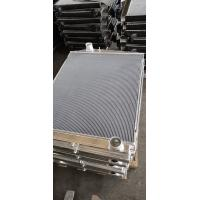 Buy cheap Customized Aluminum finned tube heat exchanger for water cooler radiator from wholesalers