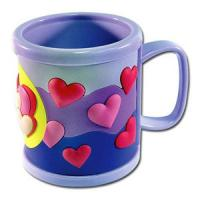Buy cheap 3D cute food grade silione 8*8 tea/coffee Mug with customized design for promotion from wholesalers