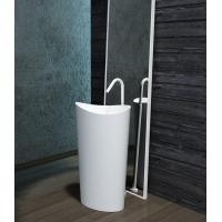 Buy cheap Unique Shape Freestanding Bathroom Basin Stand Alone Vanity Unit from wholesalers