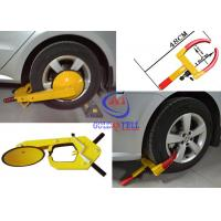Heavy Duty Security Car Wheel Clamp , Water proof vehicle wheel clamps for cars Manufactures
