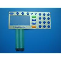 Digital Printed Embossed Keypad Membrane Switch 30V DC With Touch Panel