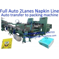 Buy cheap Mechanical Folding Mini 2 Lanes Tissue Paper Manufacturing Machine from wholesalers