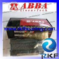Buy cheap P6 P5 P4 Taiwan ABBA BRH20B Linear Bearings With Original ABBA BRH20B Packing from wholesalers