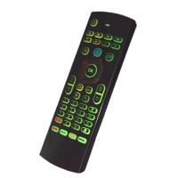 Wholesale Easy Using Gyroscope Air Mouse Voice Control Double Keyboard For Tv Box from china suppliers