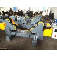 Buy cheap 20 T Self Adjust Fit Up Welding Rotator Pipe Roller Support With Motorized Moving Motor from wholesalers