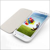 Buy cheap For Samsung Galaxy S4 i9500 battery case power bank with leather case from wholesalers