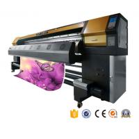 Buy cheap 2017 top sale year 3.2m printhead dx5 eco solvent printer banner uv printing machine for  fabric factory  AP-3300S from wholesalers