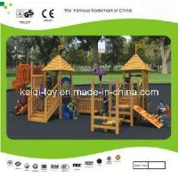 Buy cheap Nice Looking Wooden Series Outdoor Playground Equipment (KQ10156A) product