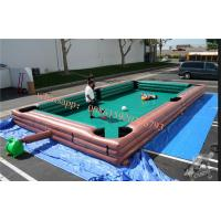 Buy cheap inflatable billiard table , inflatable human foosball , human foosball sacco ,  human inflatable ball pool table soccer from wholesalers