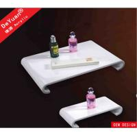 Buy cheap White Acrylic Display Stands Shower Serving Tray Custom 8mm Thickness from wholesalers