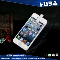 Buy cheap Anti-dust Real iPhone 5 Tempered Glass Protector Film Guard from wholesalers