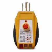 Buy cheap GFCI Receptacle Tester with UL Approval and 110 to 125V AC Voltage from wholesalers