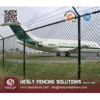 Airport Perimeter Chain Link Fence
