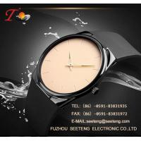 Buy cheap Silicone strap  with alloy case and color customized dial watch silicone watch from wholesalers