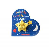 Buy cheap Star theme, customized children's books, hardcover board printing services from wholesalers