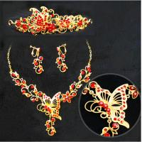 Exquisite Handmade Animal Jewelry Necklace Earrings Crown for Womens , Girls Manufactures