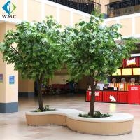 Wholesale Indoor Decoration Artificial Tree Plant , Artificial Chinese Phoenix Tree from china suppliers