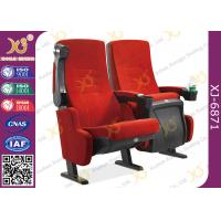Comfortable Cinema Theater Chairs , Movie Room Chairs With Tip Up Armrest