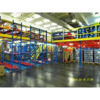 Buy cheap Powder Coat Steel Rack Supported Mezzanine For Distribution Center from wholesalers