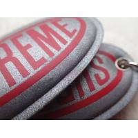 Buy cheap Custom Silver Reflective Screen Printed Keyring Chain For Promotion Gift from wholesalers