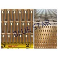 Buy cheap Aluminum Pre Crimped Wire Mesh Screen For Farm & Decoration Smooth Top Anti - Corrosion from wholesalers