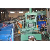 Buy cheap PLC Control Cable Tray Roll Forming Machine Metal Cable Trunking Machinery from wholesalers