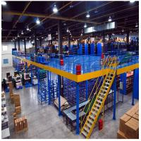 Buy cheap Long Span Warehouse Rack And Shelf Cold Rolled Steel Column H Beam Platform from wholesalers