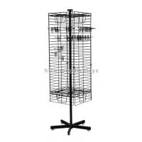 Buy cheap Black Square Hanging Necklace Display Stand Accessories In Store from wholesalers